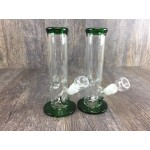 9IN. Top & Base Green Water Pipe