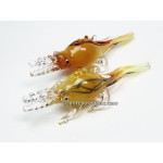Yellow Fume Crocodile Pipe