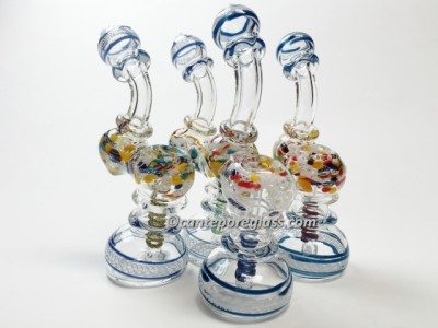 2 Rim Large Heavy Bubbler #17