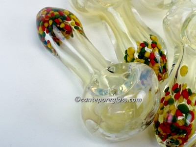 3.25 IN Mouth Frit Hand Pipe