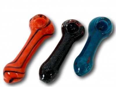 3.5 IN Assorted Frit HandPipe