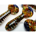 5 Inches Rasta Full Dicro Spiral Hand Pipe.