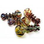 4.5 Inches Three Rim Twisting Art Hand Pipe