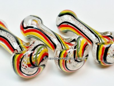 4.5 Inches Rasta Hand Pipe