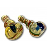 4.5 In Rasta Stand Hand Pipe