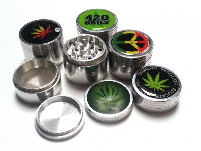 Stickers Matel Grinder 53mm