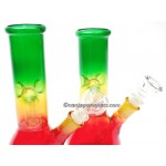 8 IN  Rasta Water Pipe #24